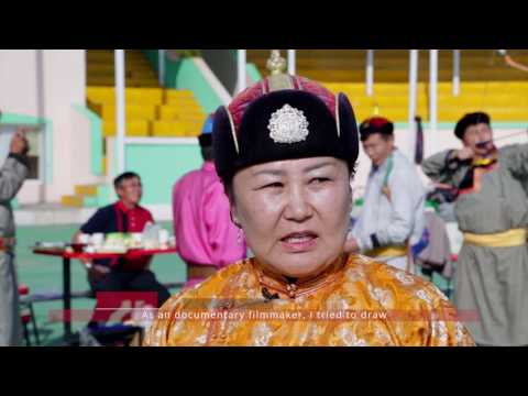 [2016 Youth Meets ICH] 3. Queens of the Three Manly Sports, Mongolia