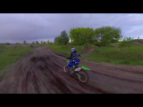 Фото Motocross from FPV drone. As close as possible!