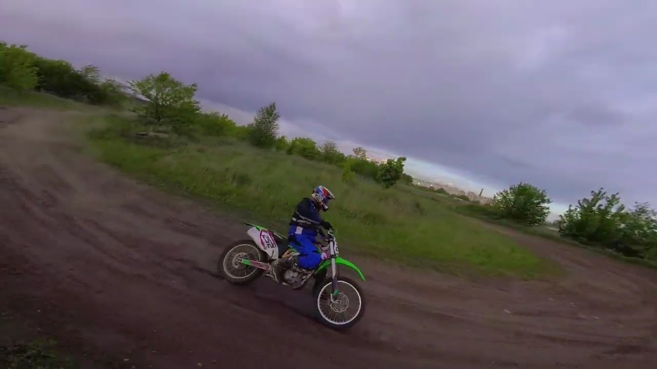 Motocross from FPV drone. As close as possible! фотки