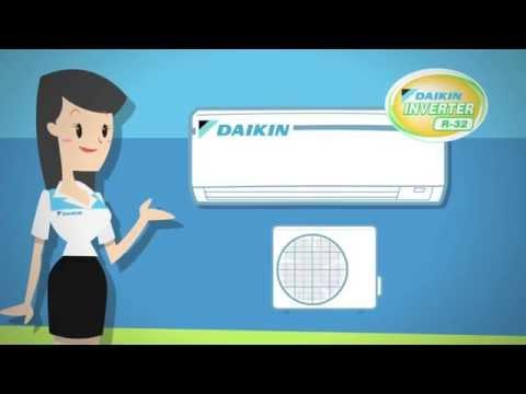 """ประโยชน์และข้อแตกต่างระหว่าง """"Daikin Inverter"""" และเครื่องปรับอากาศที่ไม่ใช่อินเวอร์เตอร์"""