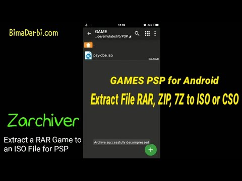 How to Extract a RAR, ZIP, 7Z Game to an ISO or CSO File for