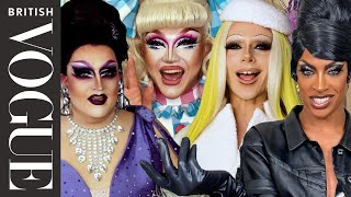 Drag Race UK's Bimini Bon-Boulash & Tayce Create Their Dream Vogue Cover Look | British Vogue