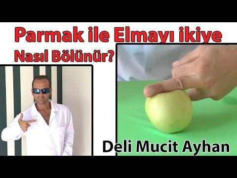 Parmak ile Elmayı ikiye Nasıl Bölünür? | Deli Mucit Ayhan