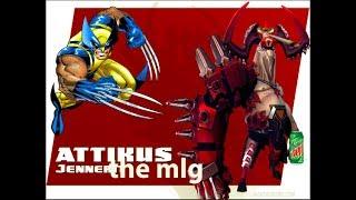 |ATTIKUS IS PART WOLVERINE|battleborn funny moments