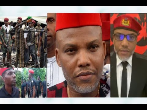 Nnamdi Kanu Reveal Why He Established The Biafran Army Also Known As The Eastern Security Network