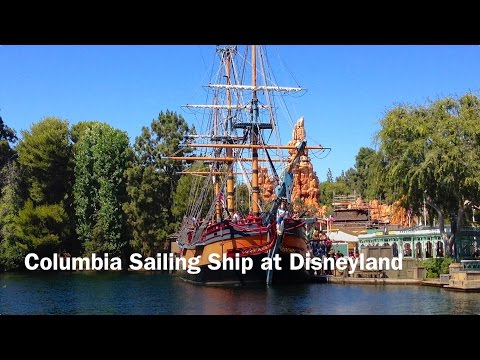 Columbia Sailing Ship at Disneyland