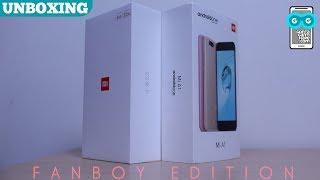 Double Xiaomi Unboxing: Mi A1 vs Mi 5X, Gedean Mana Hayoo Antutu-nya?