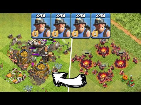 MAXED TUNNELGRÄBER ONLY! || CLASH OF CLANS || Let's Play CoC [Deutsch German HD]