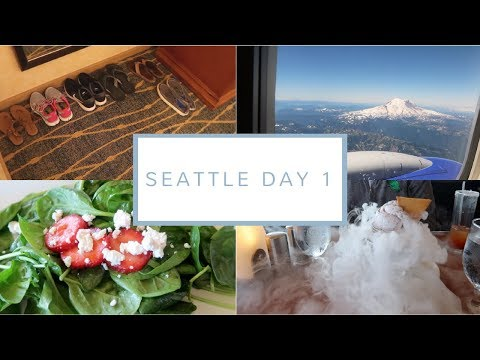 Traveling to Seattle + Lunch at the Space Needle | Seattle Day 1 | July 28, 2017