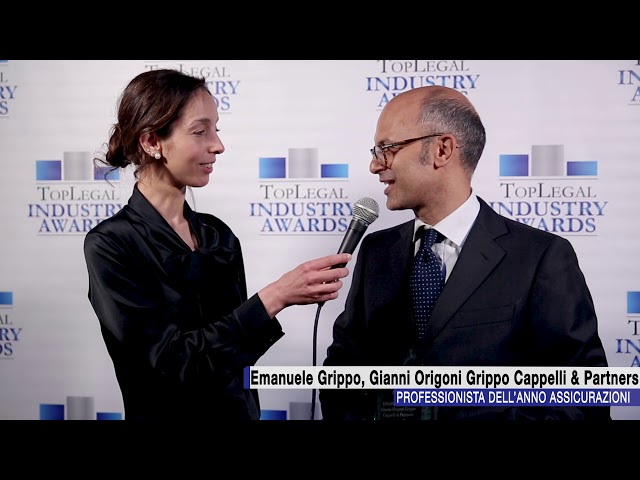 Emanuele Grippo, Gianni Origoni Grippo Cappelli & Partners - TopLegal Industry Awards 2018
