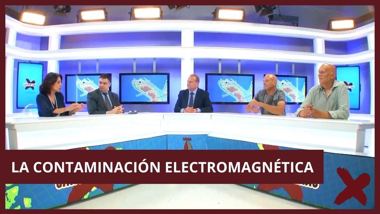 Aparición en Sin Fronteras de Pedro Riba para hablar sobre la contaminación electromagnética.