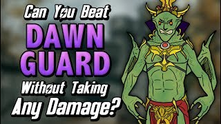 Can You Beat Skyrim: Dawnguard Without Taking Any Damage?