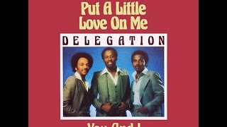 Delegation - Put a little love on me - 1979 (Cover Bass)