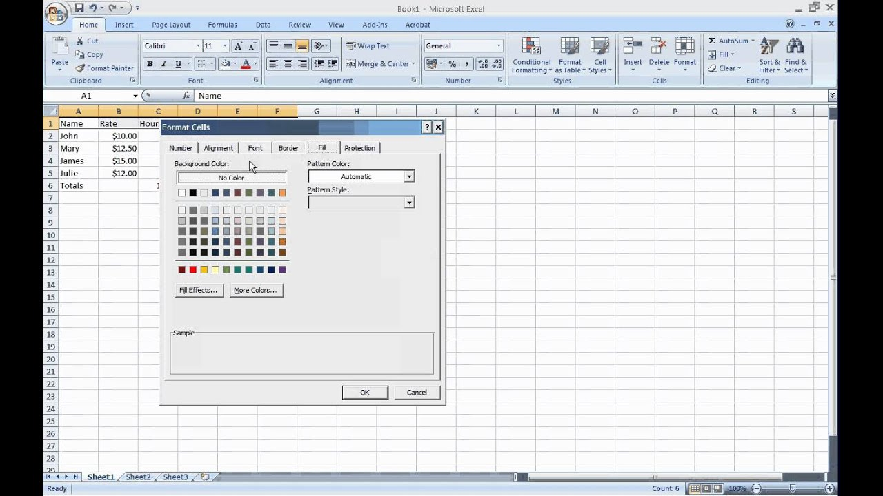 Excel Basics C