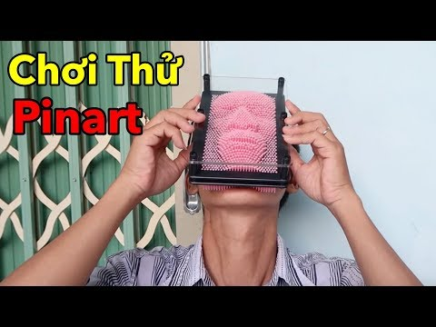 Lâm Vlog - Lần Đầu Chơi Thử Đồ Chơi Nước Ngoài | Pinart 3-Dimensional Pin Sculpture
