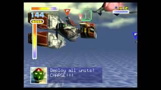 Star Fox 64 Wii U Virtual Console - Corneria