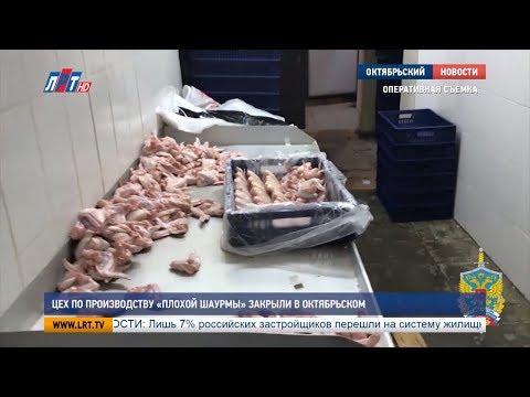 Цех по производству «плохой шаурмы» закрыли в Октябрьском