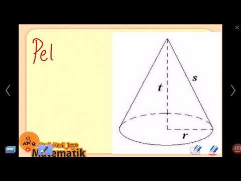 Garis Pelukis Kerucut (s) Jurus 7 detik Matematika Teorema Pythagoras