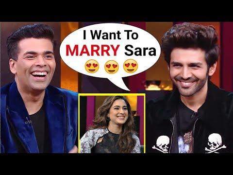 Kartik Aryaan Comment On Sara Ali Khan On Koffee With Karan Season 6 Mp3