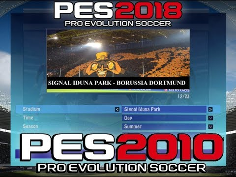 PES 2010 Ultras Generation Patch 17/18 Stadiums - Download links coming soon !