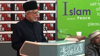 Imam of the London Mosque tackles Extremism | Leamington Spa