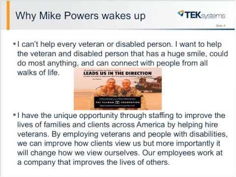 D&I Leadership Webinar: TEKsystems Veterans Program