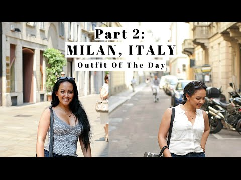 VLOG 13: Part 2 2014 Milan Italy Things To Do Travel Vlog Outfit Walking Tour Follow Me Around