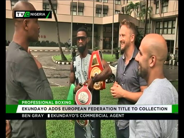 Boxer Ekundayo adds European federation title to collection