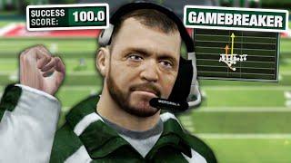 I made a 900 IQ play in NFL Head Coach 09 - #2