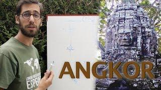 Angkor-temploj : 300 jaroj da konstruado