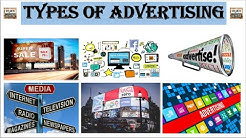 Type of advertising | Media | On Geographic Area | On Audience | On Morden Advertising |