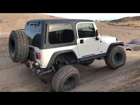 Flex Testing Freiburger's Jeep TJ