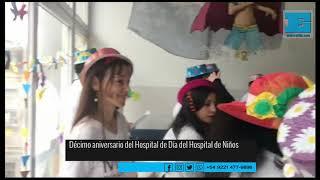 Colorido festejo en el Ludovica por  los 10 años del Hospital de Día