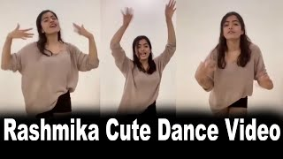 Rashmika Mandana Latest Cute Dance Video | Latest News | Multiplex