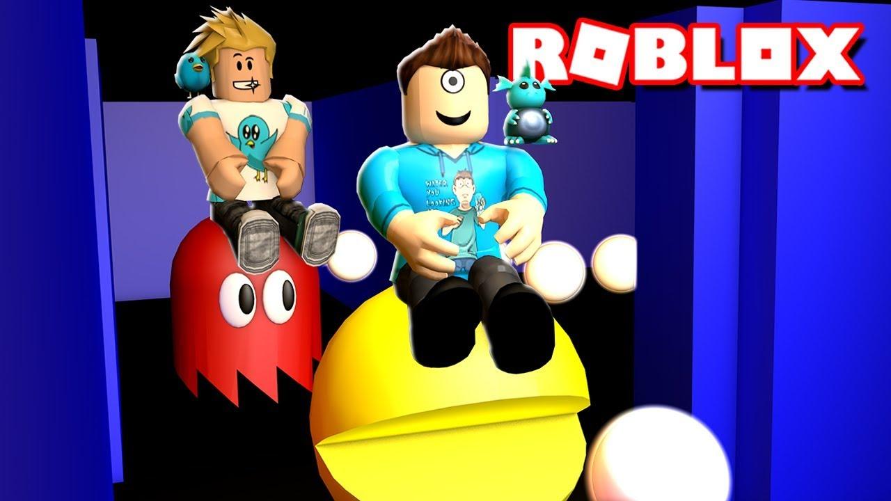 Pac 17 Roblox Pacman In Robolox W Gamer Chad Microguardian Youtube