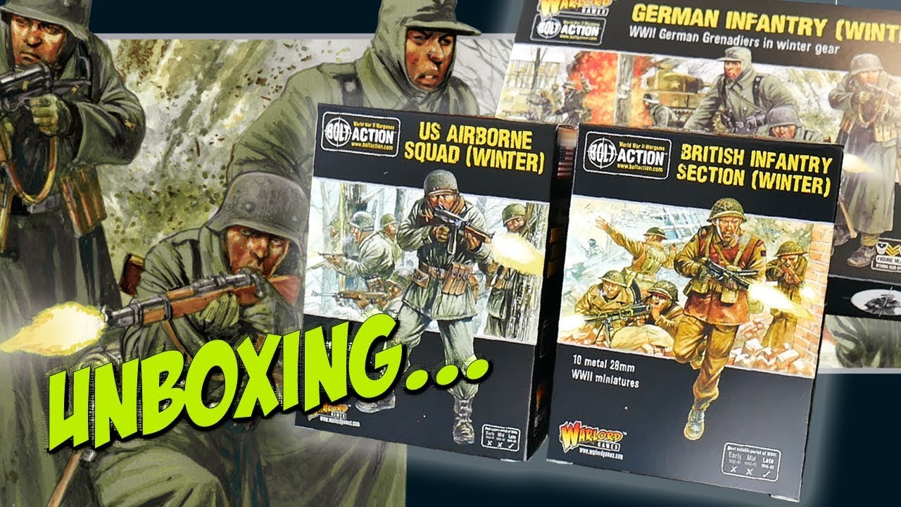 Warlord Games Bolt Action US Army Infantry Squad Winter