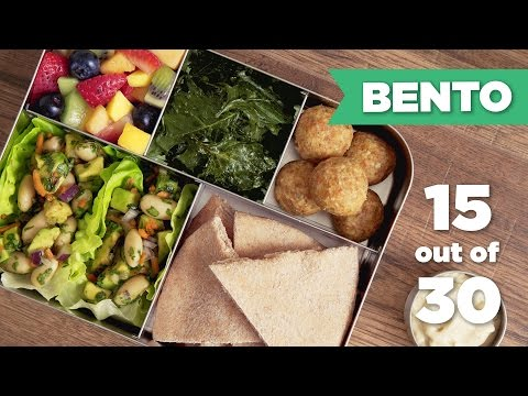 Bento Box Healthy Lunch 15/30 (Vegan) - Mind Over Munch