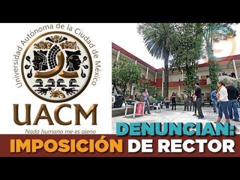 Estudiantes de la UACM denuncian intento de imposición de Rector #CDMX
