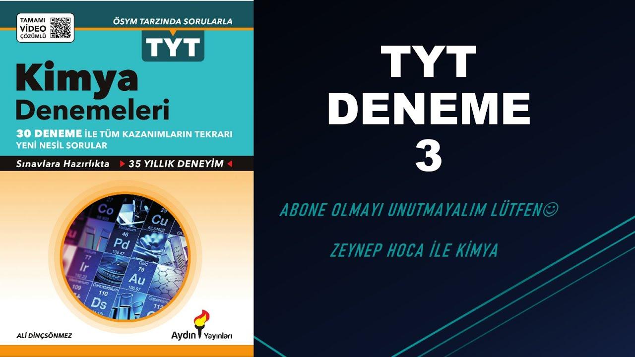 AYDIN YAYINLARI TYT DENEME 3