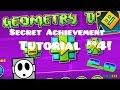 "Geometry Dash   ""The Vault"" Secret Achievement/Code Tutorial #4! (2.0)"