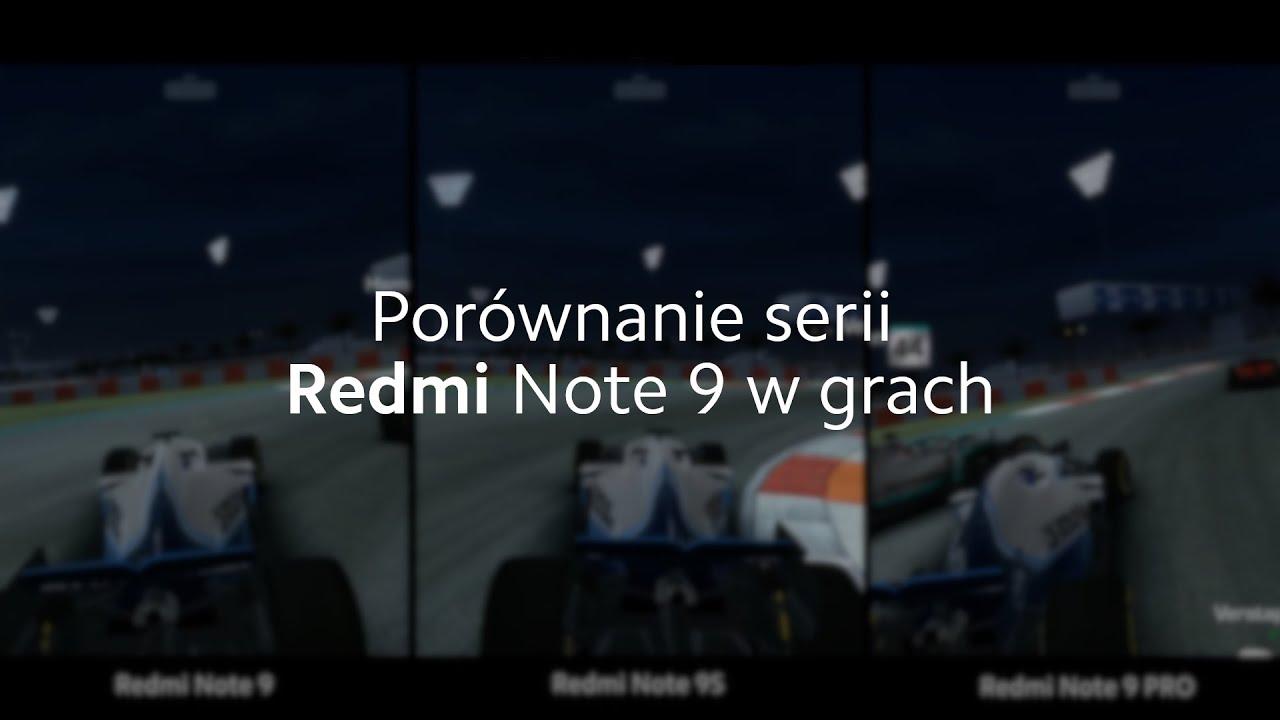 Seria Redmi Note 9 w grach mobilnych