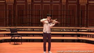 Paganini Caprice No. 5, Op. 1~ In Mo Yang (LIVE)