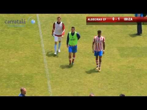 El Algeciras CF pierde su primer partido de liguilla contra el Ibiza