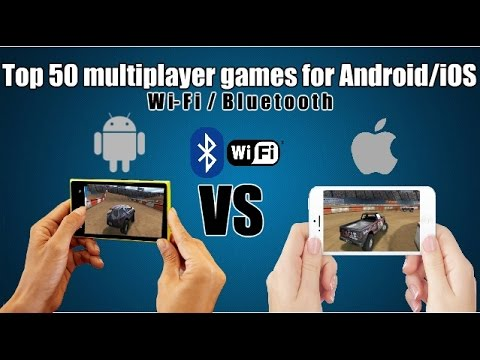 Top 50 multiplayer games for Android/iOS (Wi-Fi/Bluetooth)