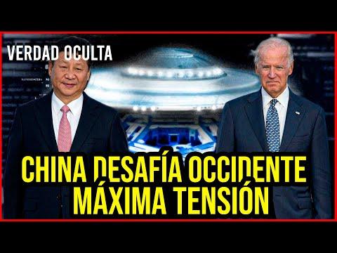 """CHINA DESAFÍA OCCIDENTE """"REALIZA LA MAYOR INCURSIÓN"""""""