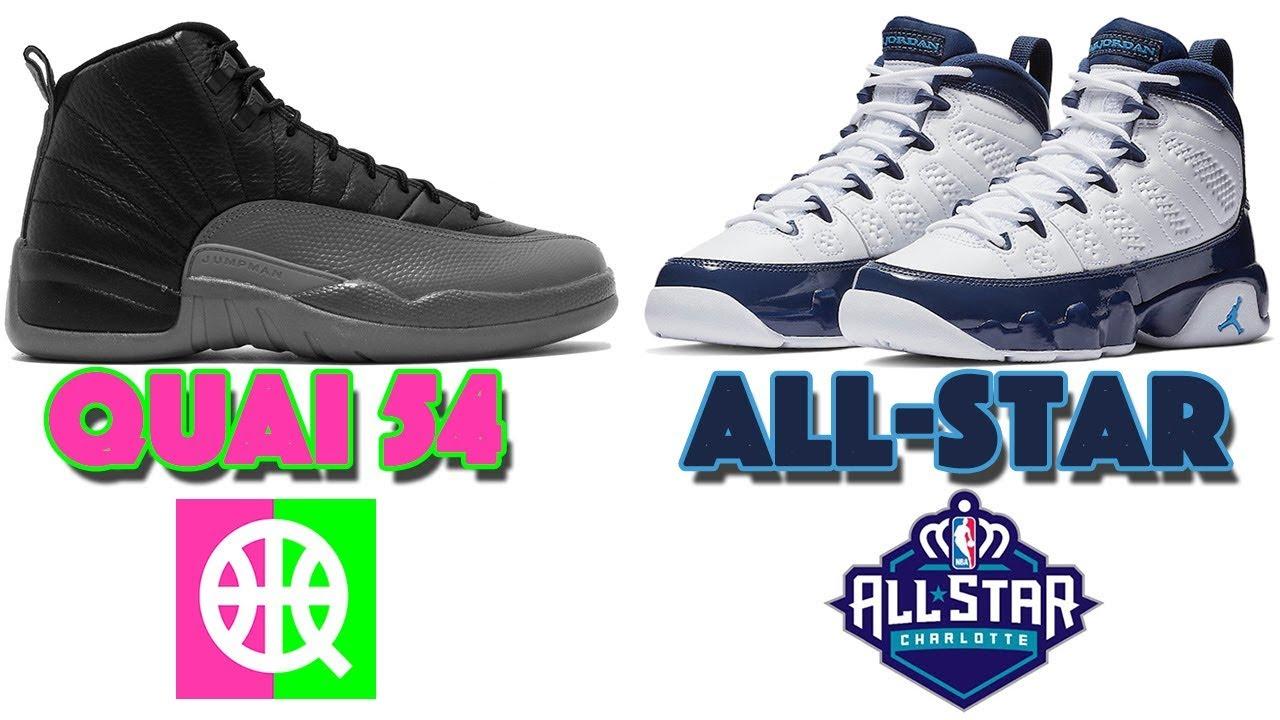 sports shoes a1961 da22a AIR JORDAN 12 QUAI 54, AIR JORDAN 9 UNC ALL-STAR (BLUE PEARL) YEEZY 350 V2  BUTTER RESTOCK AND MORE