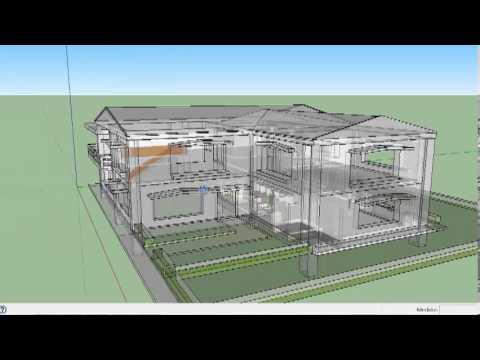 Modelo de casa 2 plantas 3d youtube for Simulador de casas 3d gratis