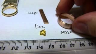 What is white gold? Pink? Yellow?