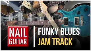 B | Funky Blues | Guitar Jam Track