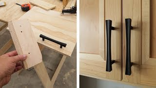 How To Install Door Handles Without Messing Up